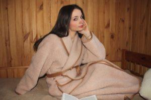 купить халаты из шерсти-1