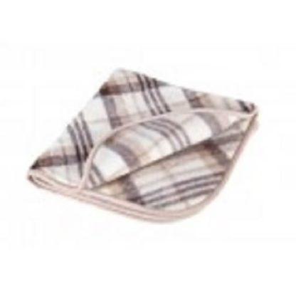 детское одеяло из шерсти КЛЕТКА